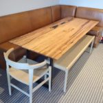 Cafeteria style dining table