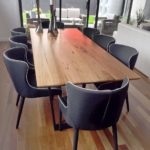Long dining table